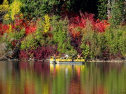 Fish-Lake-Pontoon-Boat-Fall-Colors
