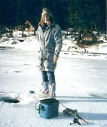 Ice Fishing Appeals To a Different Angler