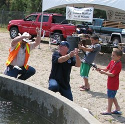 Cast for Kids Poppe Lands a Fish